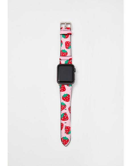 Strawberries Apple Watch Band