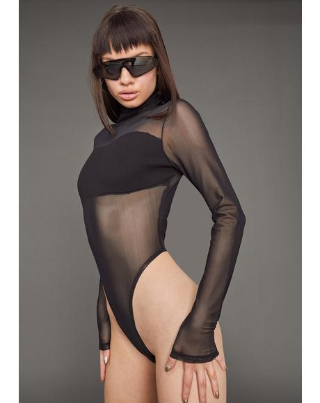 Figure Me Out Mesh Bodysuit