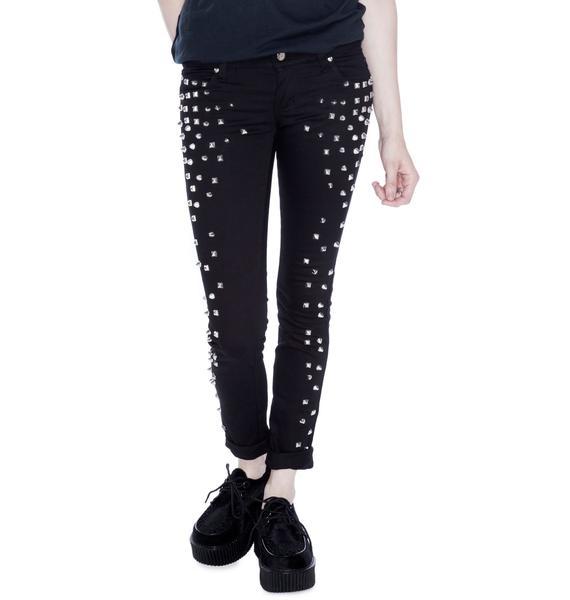 Tripp NYC Rock Stud Jeans