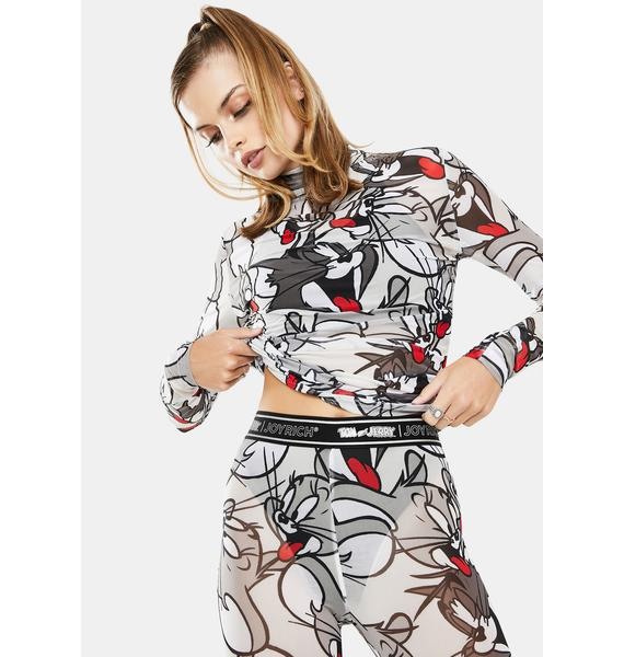 Joyrich Tom And Jerry Mesh Top