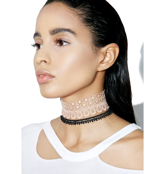 Marseille Madame Choker Set