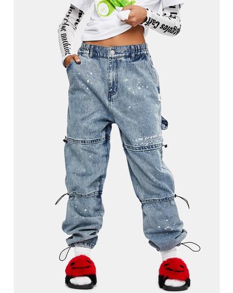 Blue Skate Jeans