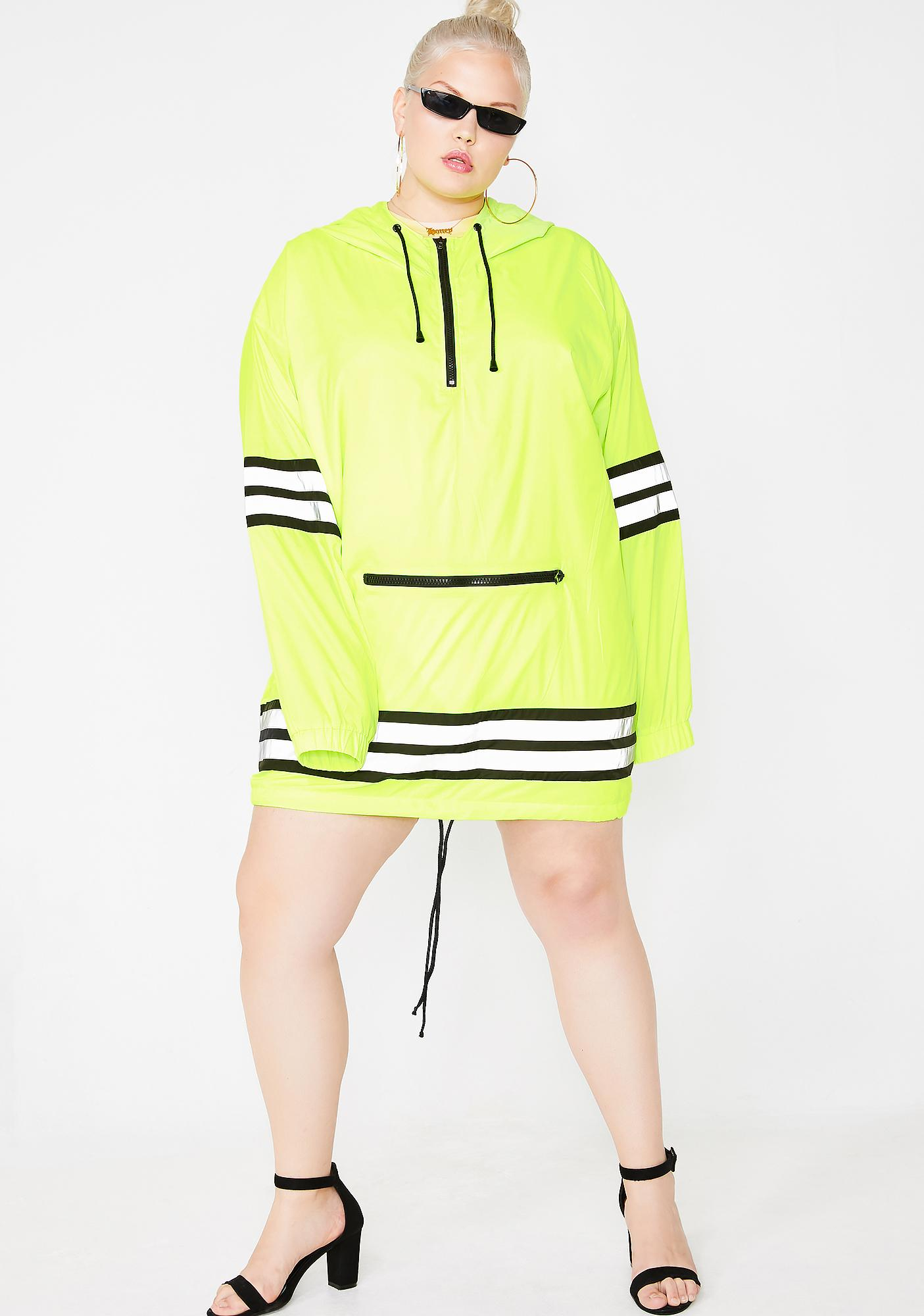 Poster Grl Mz Bodak Proceed With Caution Reflective Parka
