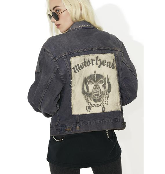 Vintage Levi Motor Head Denim Jacket