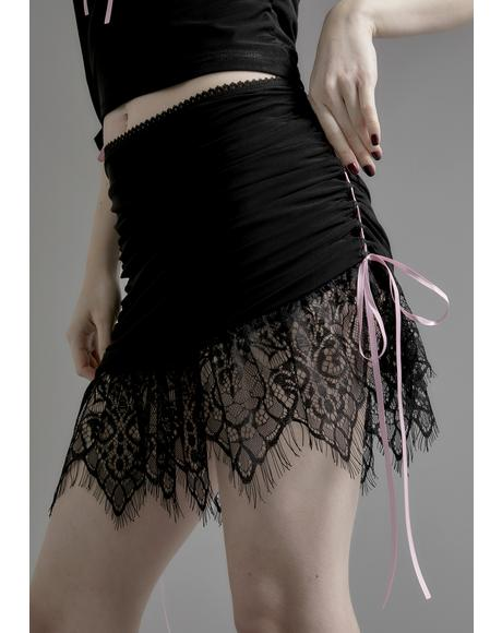 Enchanted Marionette Lace Skirt