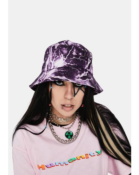 Lilac Hear The Thunder Bucket Hat