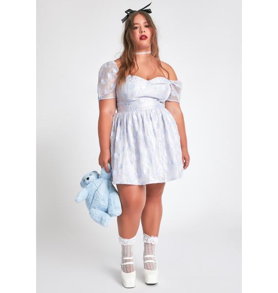 dELiA*s by Dolls Kill It's Alwayz Nap Time Babydoll Dress