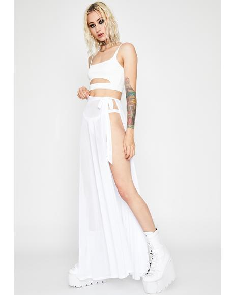 Angel Shadow Play Maxi Skirt