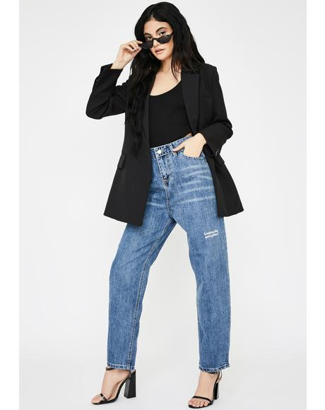 Looking King Boyfriend Jeans