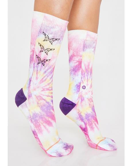 So Fly Tie Dye Socks