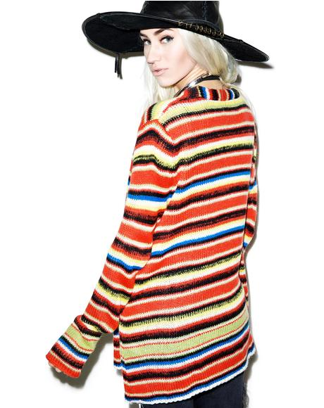 Mexican Blanket Cardigan