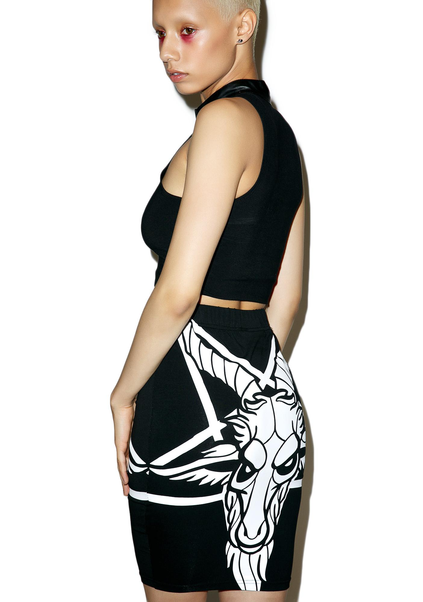 Killstar Killing It Skirt
