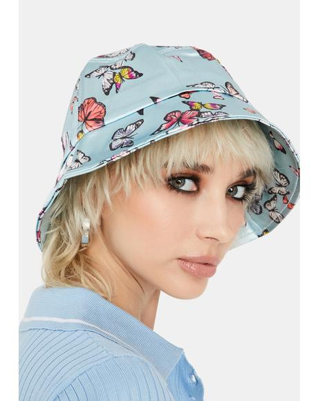 Sky Buckets of Butterflies Hat