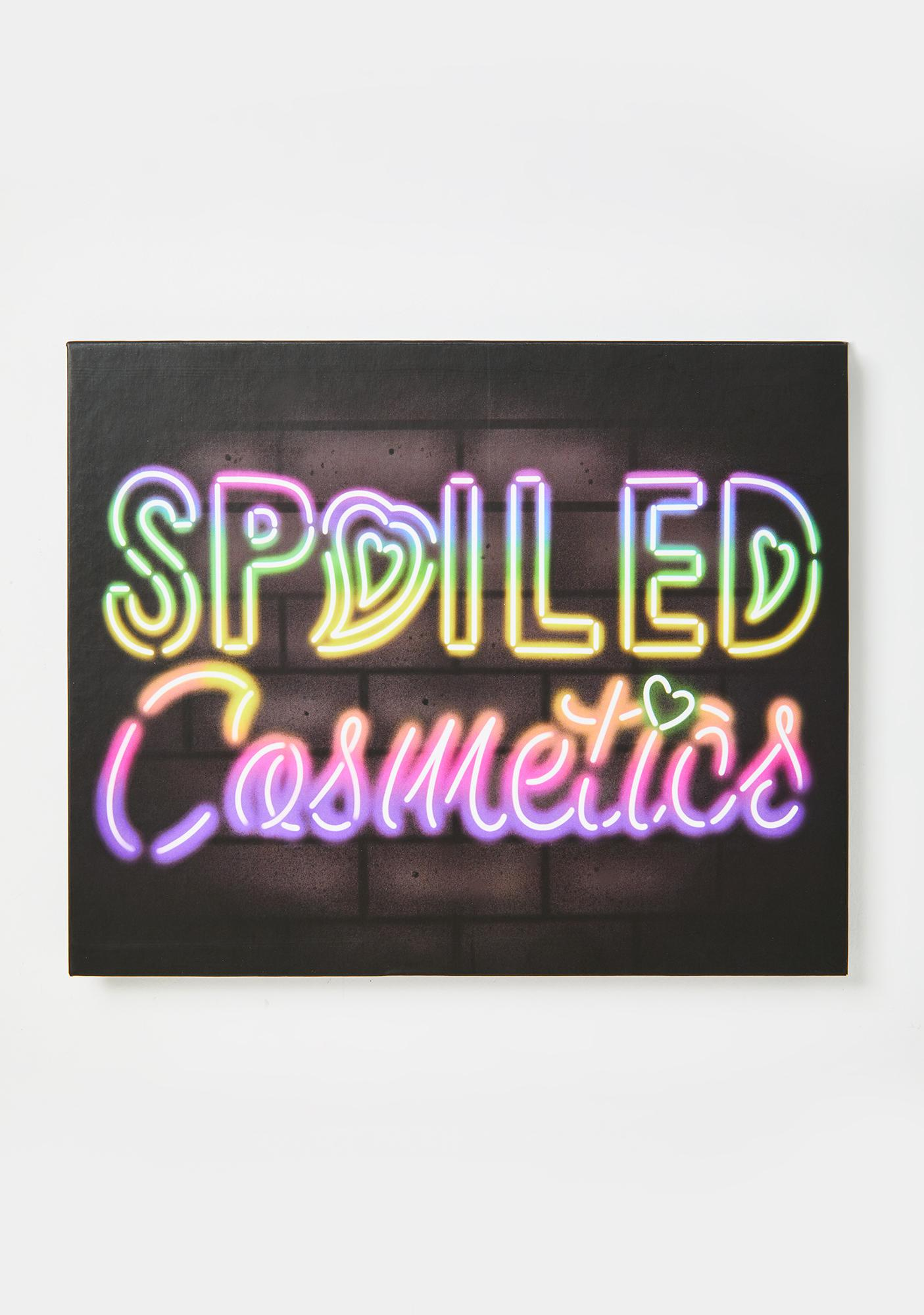 Spoiled Lips Cosmetics Neon Signs Eyeshadow Palette