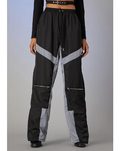 Control Panel Wide Leg Joggers