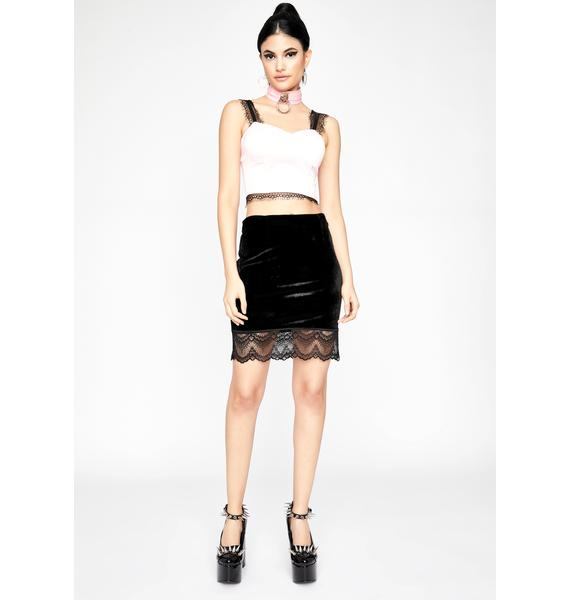 Baby Baddie Moment Bustier Top
