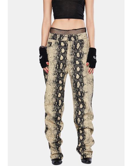 Intercourse Snakeskin Pants