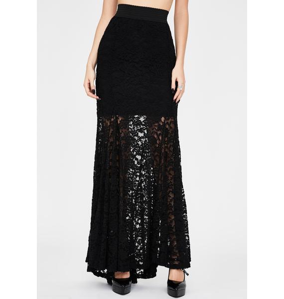 Kiki Riki Morose Mystique Lace Skirt