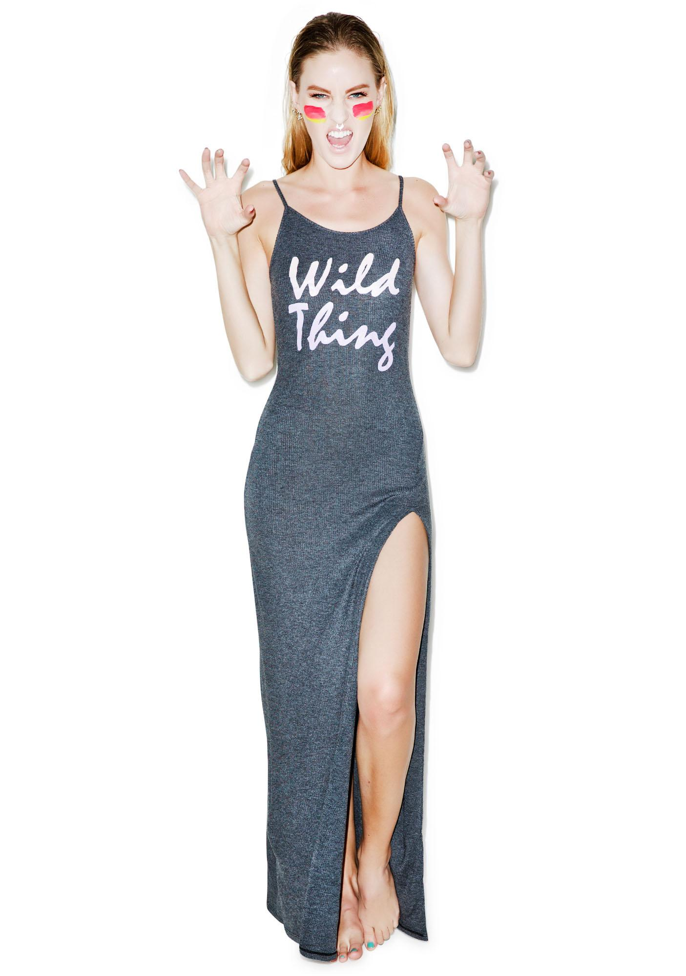 Wildfox Couture Wild Thing Jet Set Maxi Dress