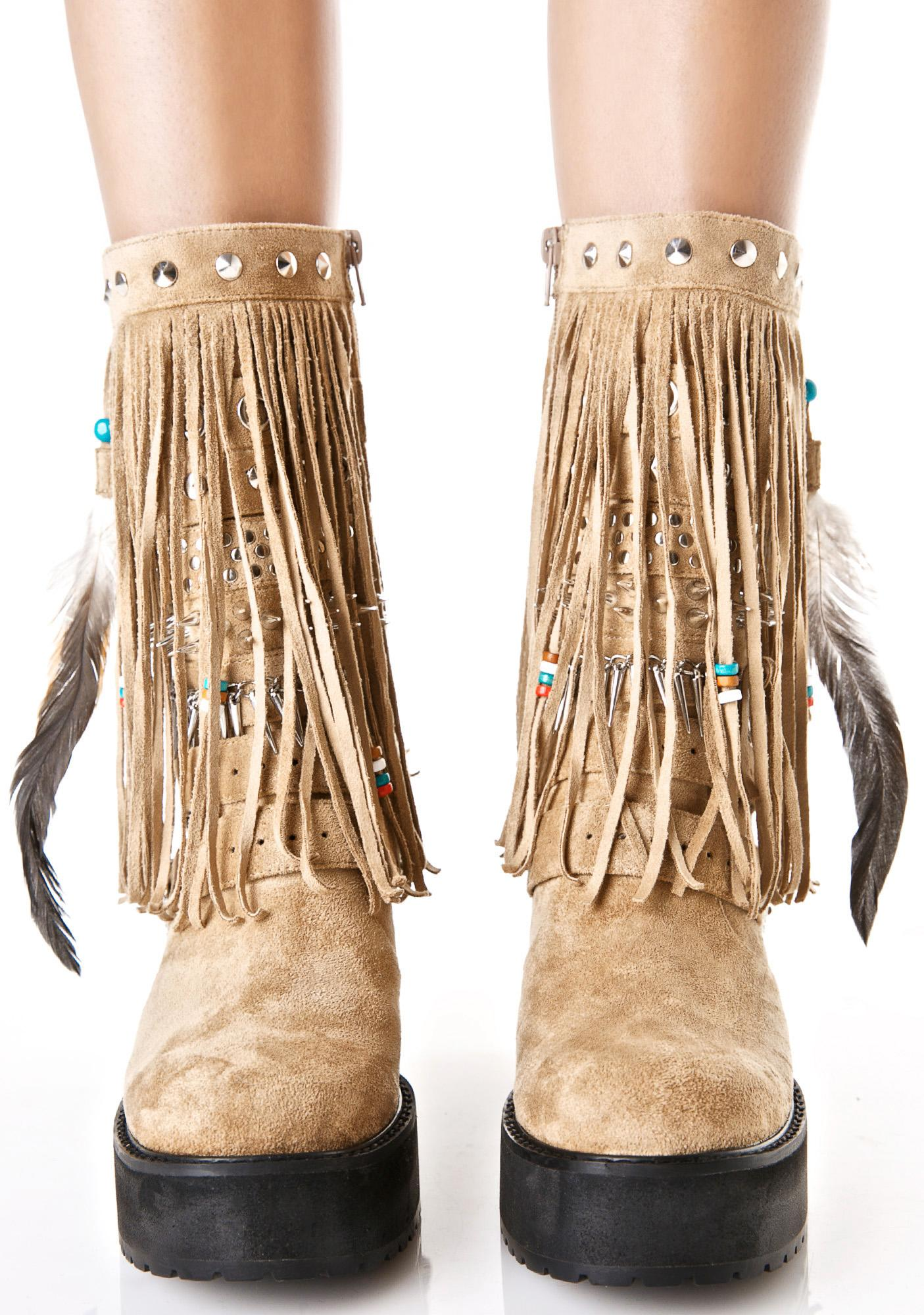 Current Mood Sedona Wedge Boots