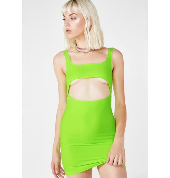 Motel Hulana Cut Out Dress