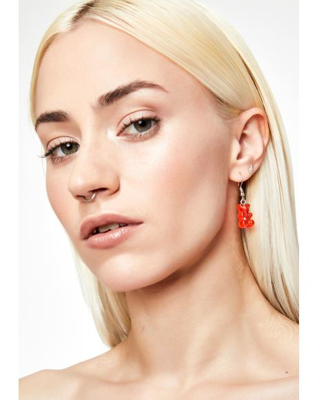 Sugar Forest Gummy Bear Earrings