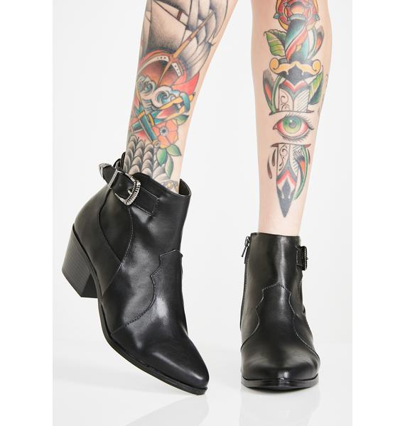 West Coast Blues Ankle Boots