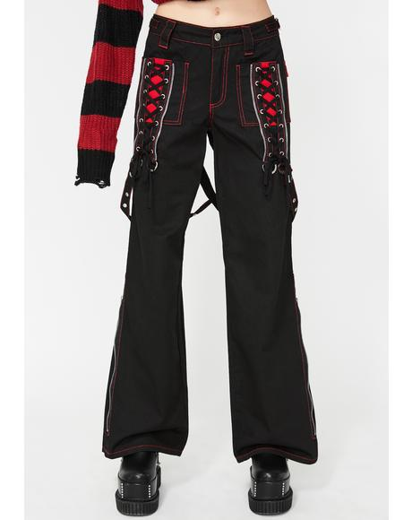 X-Power Lace-Up Pants