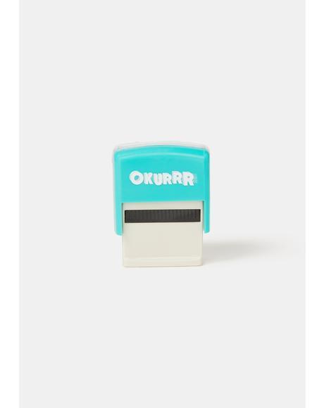 Okurrr Millennial Stamps