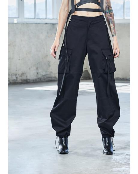 Bassline Wide Leg Cargo Pants
