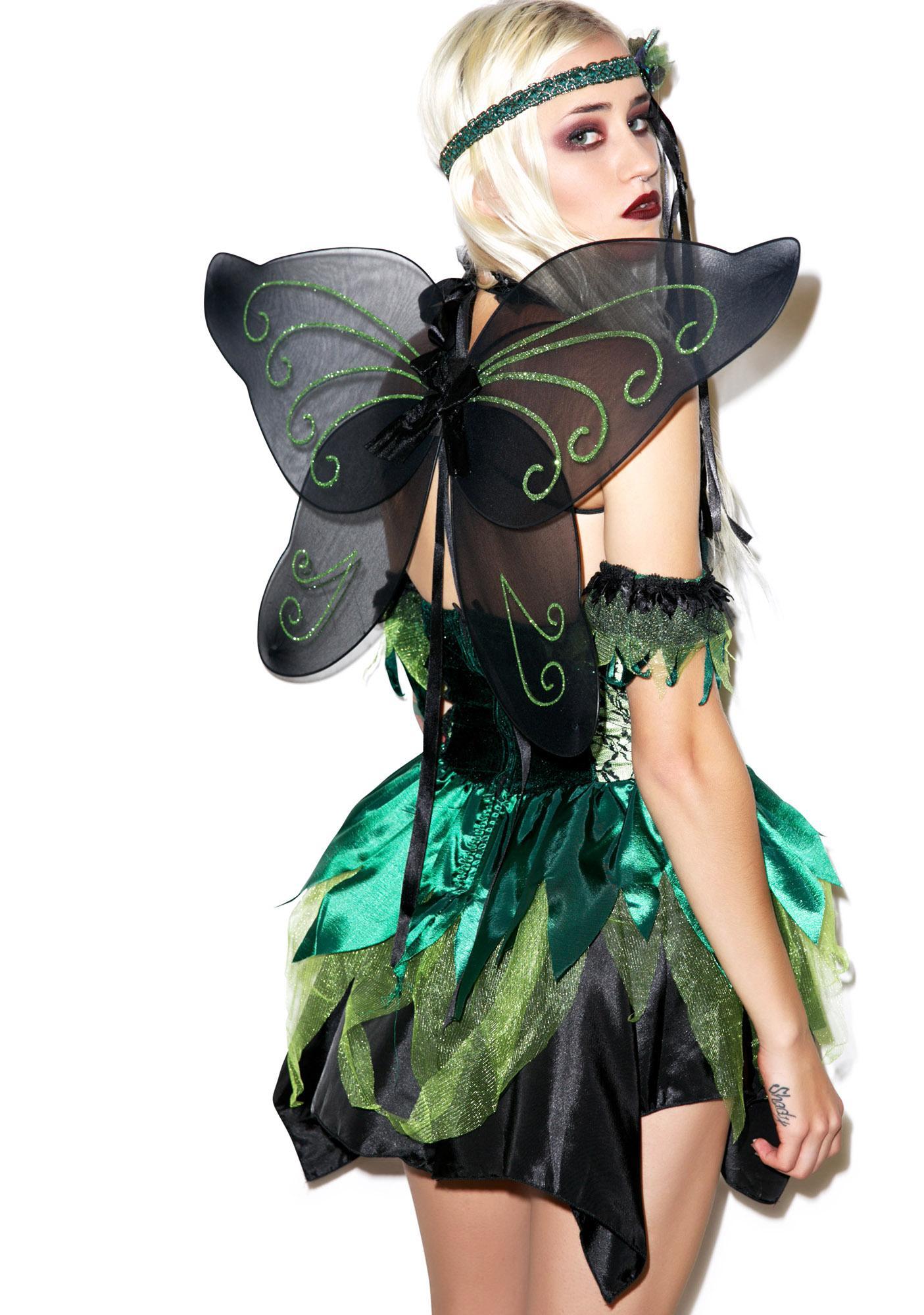 Lip Service Absinthe Fairy Costume