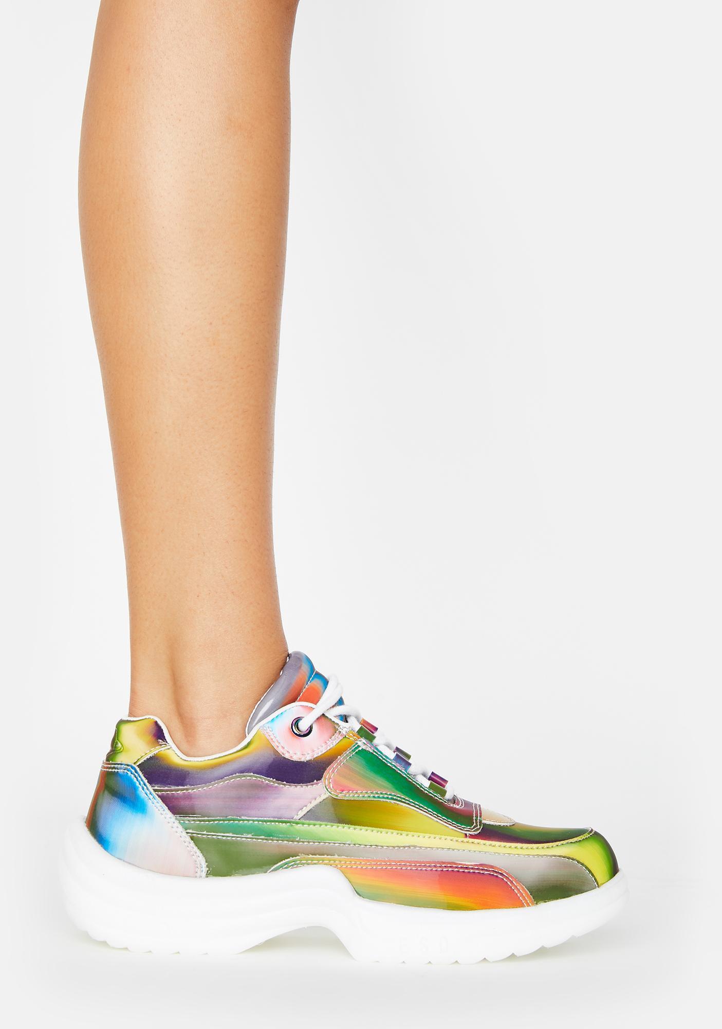 ESQAPE 5D Transcending Flyh Lo Sneakers