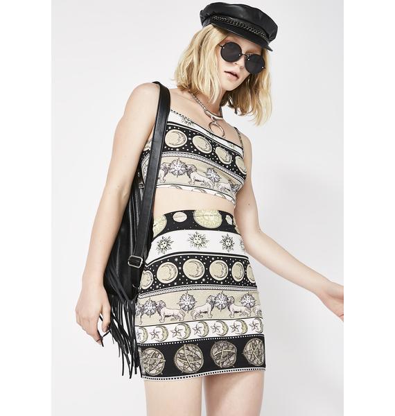 Motel Eclipse Kimmy Skirt