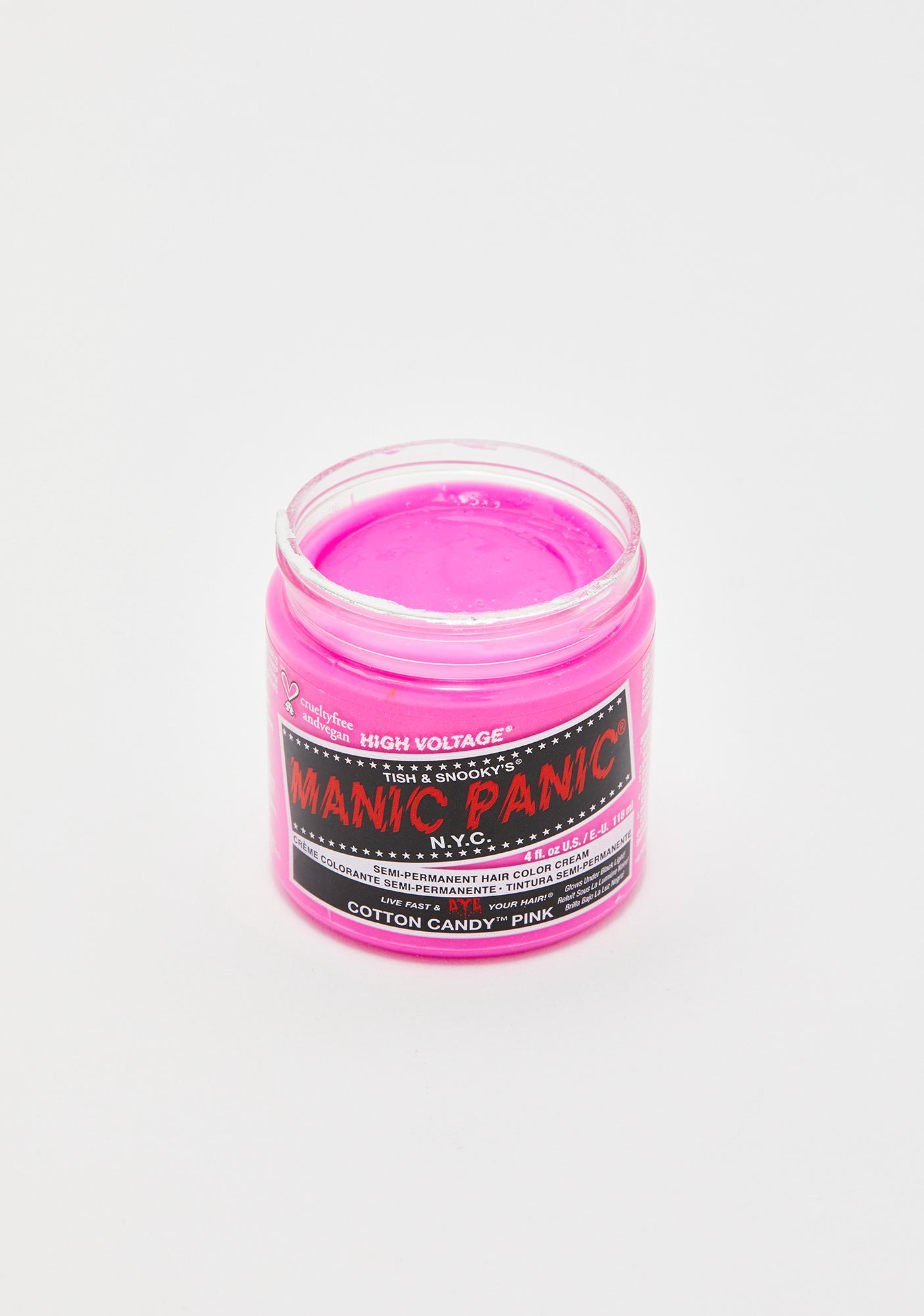 Manic Panic Cotton Candy Classic High Voltage UV Hair Dye