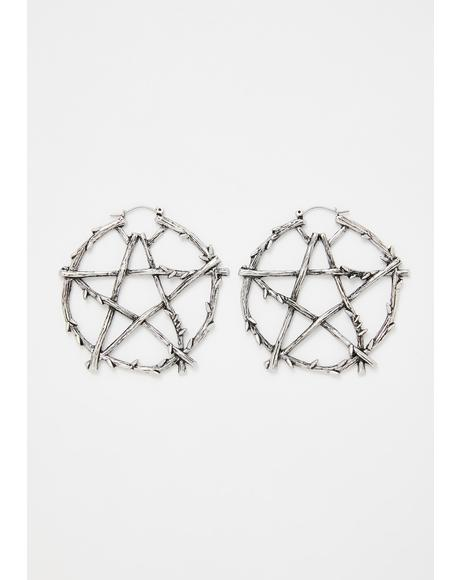 Devoted Darling Hoop Earrings