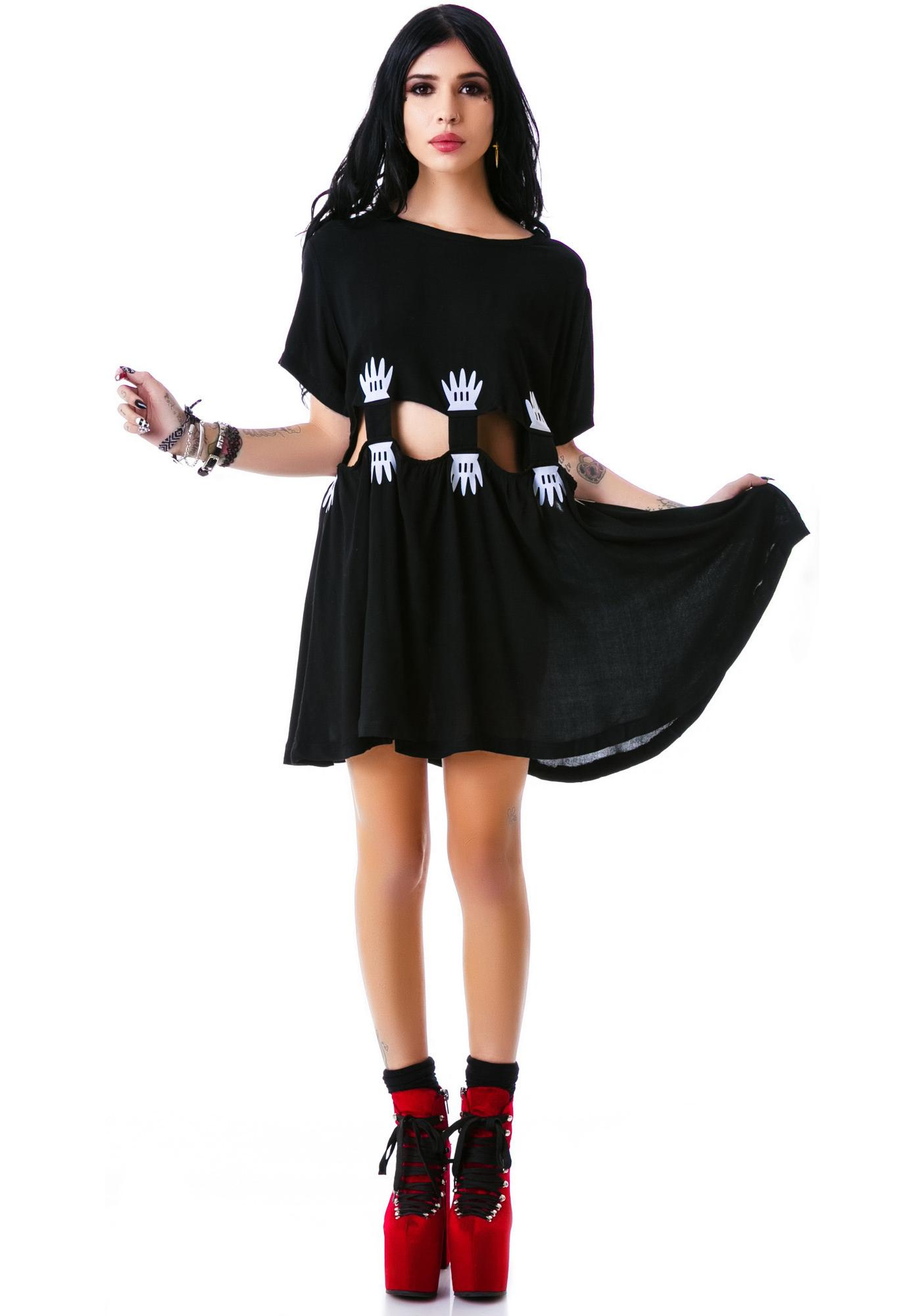 Lazy Oaf Mind the Gap Dress