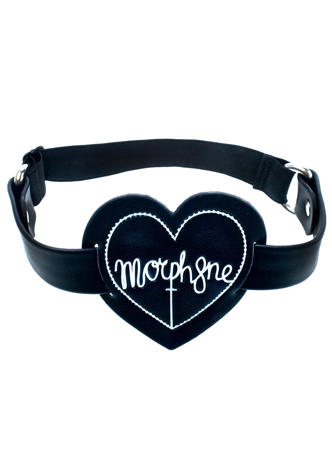 Morph8ne Heart Logo Garter