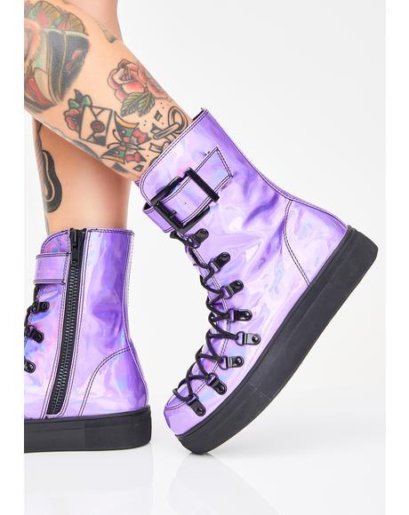 Strangler Holo Boots
