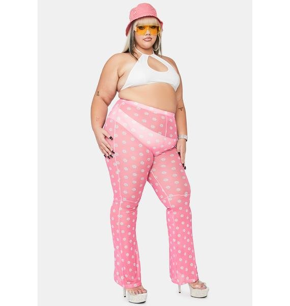 Sweet Total Blossom Babe Flare Pants
