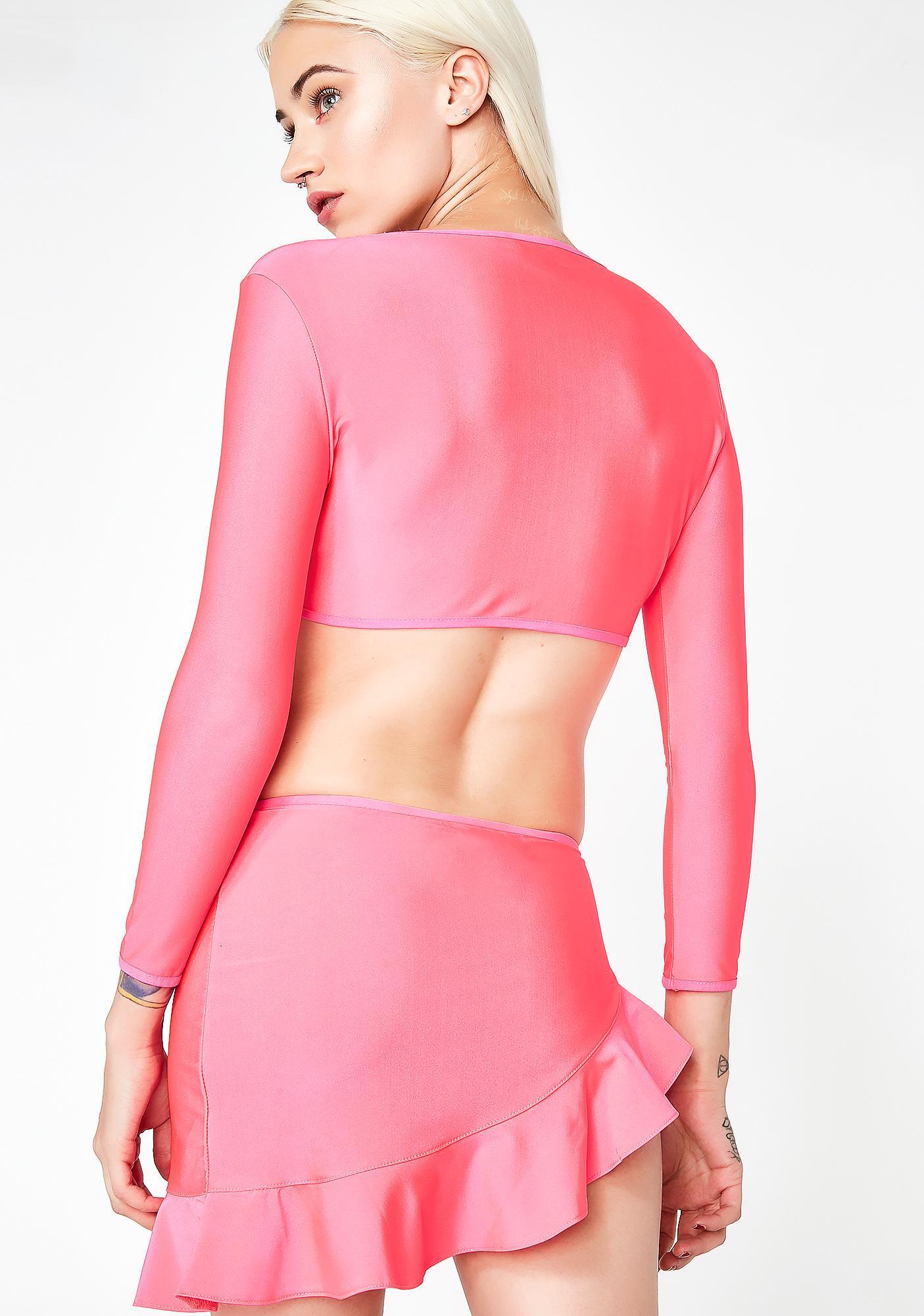 Club Exx Candy Toxxic Tease Mini Skirt