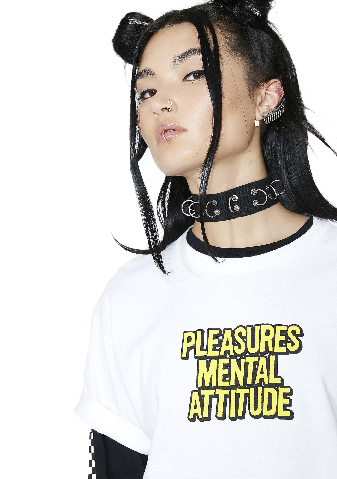 Pleasures Mental Attitude Tee