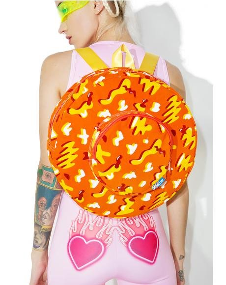 Cheese Doodle Circle Backpack