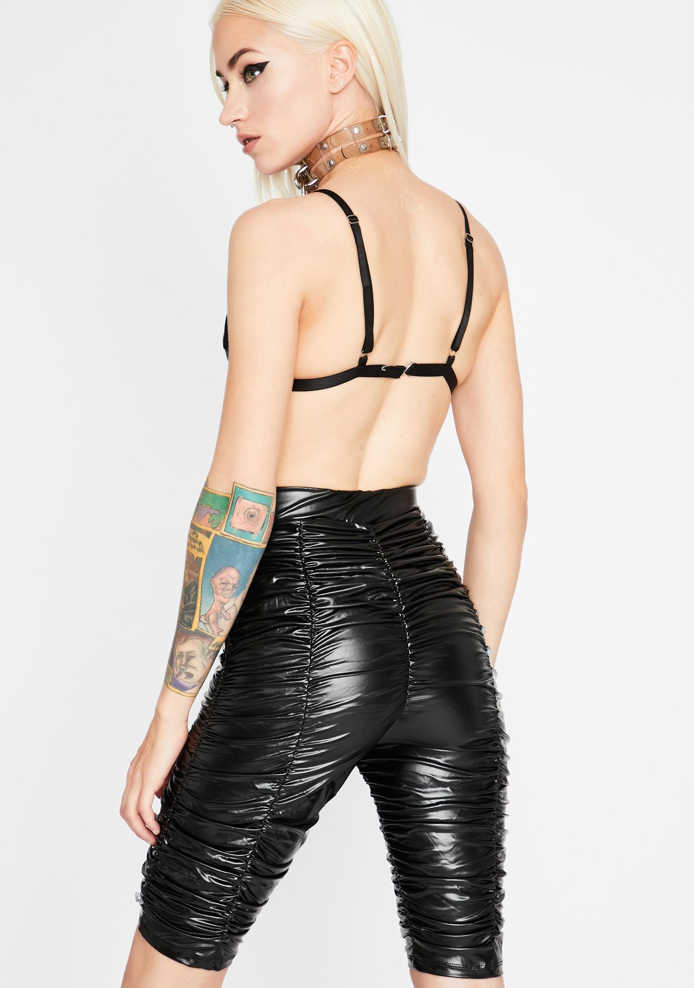 Mainstream Feelz Biker Shorts