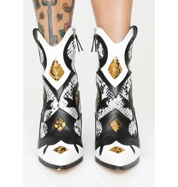 Yee Hawtt Ankle Boots