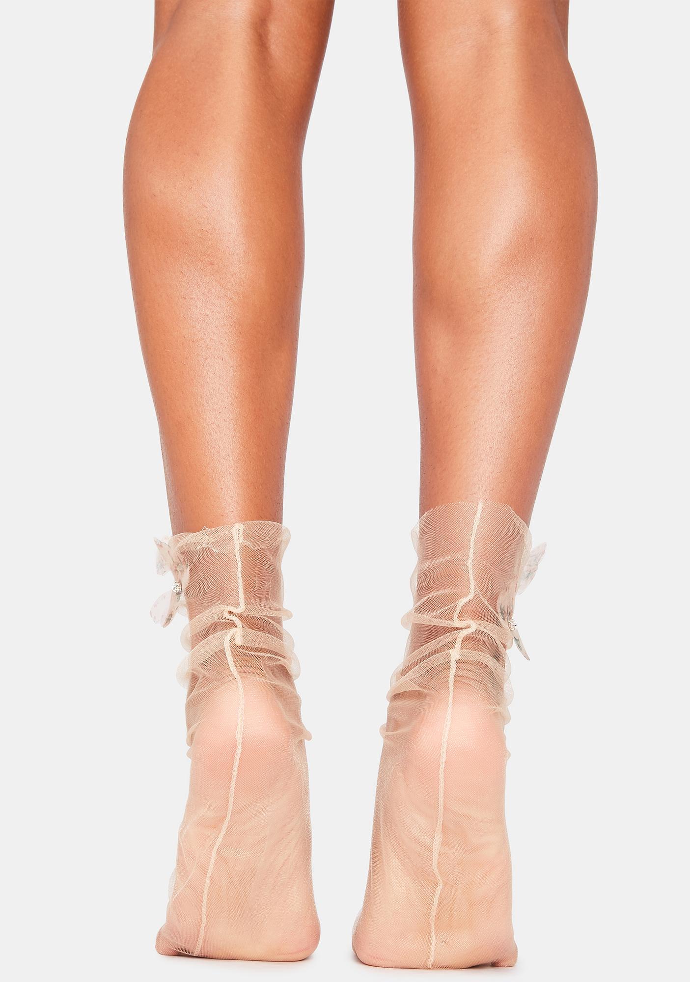 Delicate Damselfly Socks