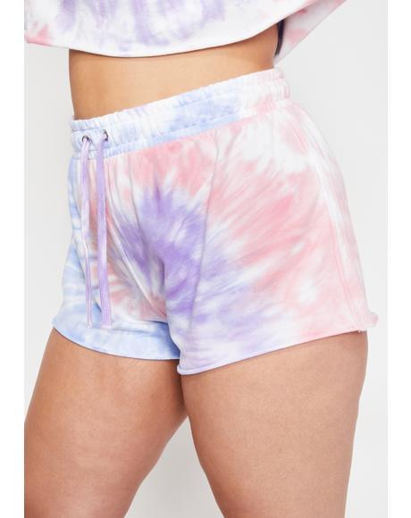 Dear Moody Mystic Tie Dye Shorts