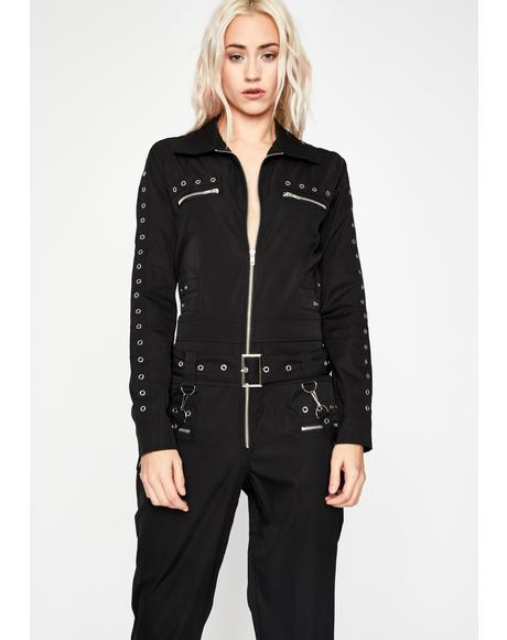 Harder Daze Cargo Jumpsuit