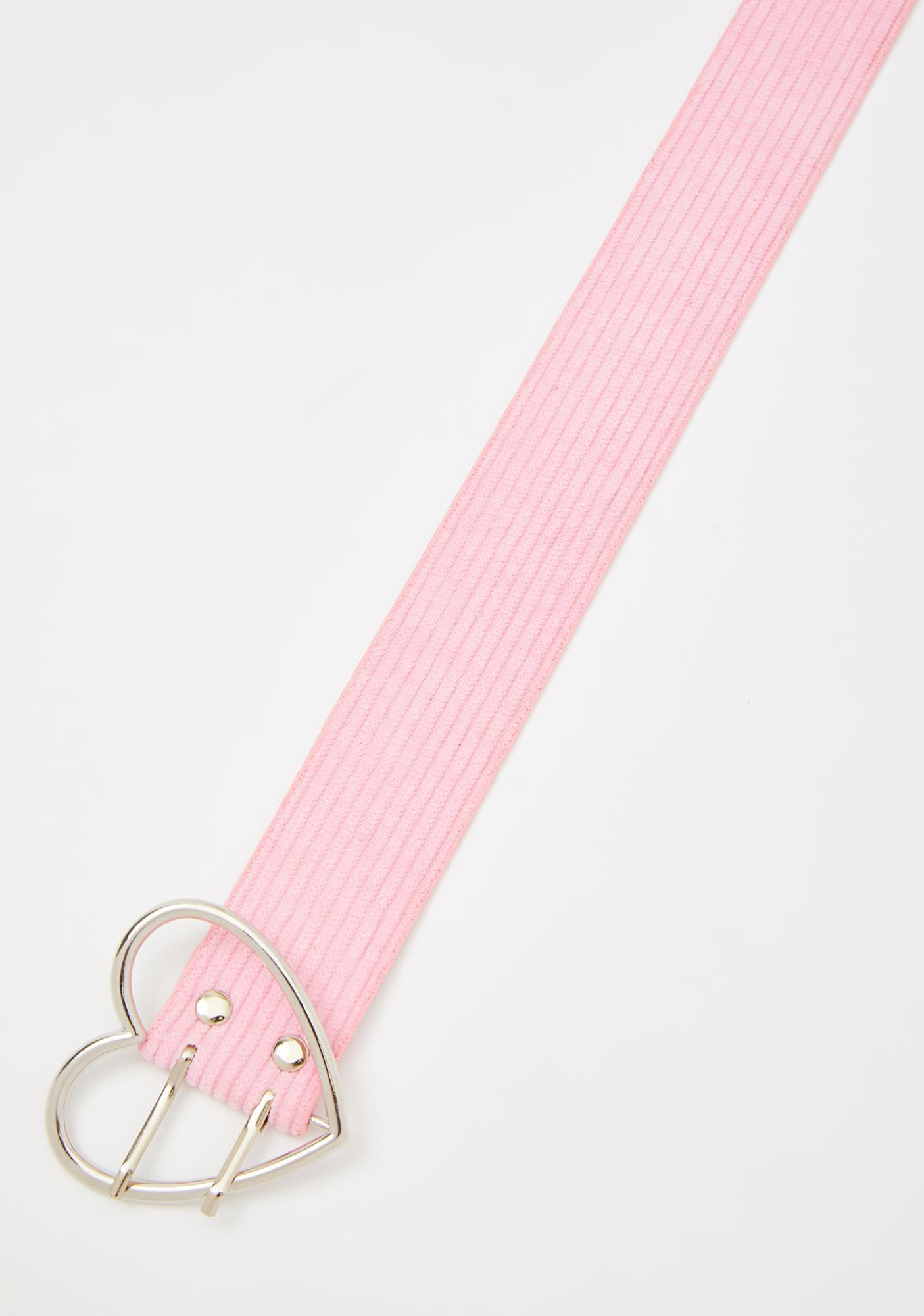 Sweet Heart Of Mine Buckle Belt