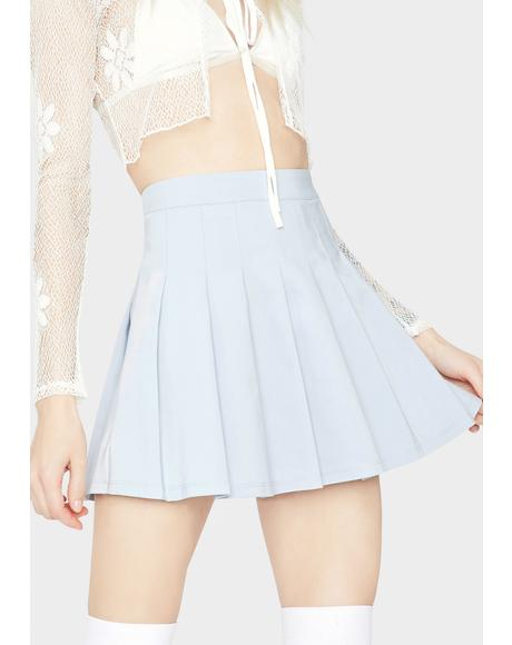 Pool Make It Clear Pleated Mini Skirt