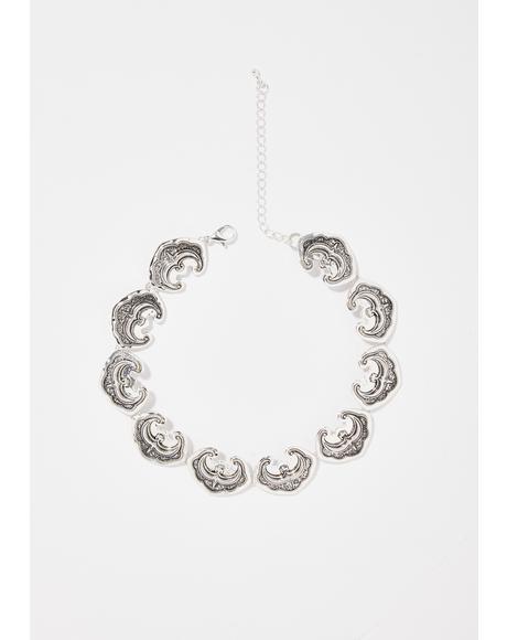 Bae Fantasy Silver Necklace